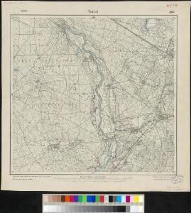 Meßtischblatt 2476 : Triebel, 1917