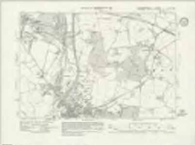 Buckinghamshire LIV.NW - OS Six-Inch Map