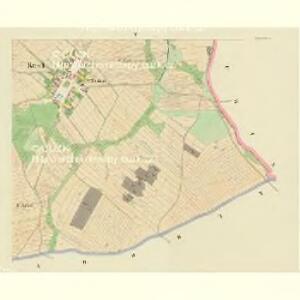 Krtsch (Krcz) - c3545-1-003 - Kaiserpflichtexemplar der Landkarten des stabilen Katasters