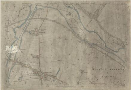 Staffordshire XXXVII.16 (includes: Baswich; Hopton And Coton; Stafford; Tixall) - 25 Inch Map
