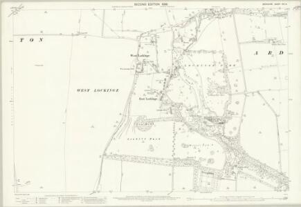 Berkshire XIV.15 (includes: Ardington; Grove; Lockinge; Wantage) - 25 Inch Map
