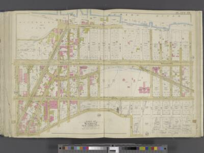 Manhattan, Double Page Plate No. 39 [Map bounded by Hudson River, W.124th St., Convent Ave., W. 125th St.]