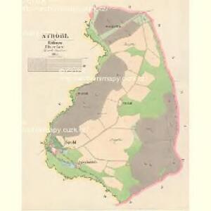 Ströbl - c7442-1-001 - Kaiserpflichtexemplar der Landkarten des stabilen Katasters