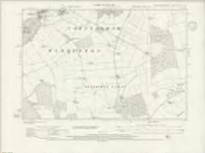 Northamptonshire XVII.NW - OS Six-Inch Map