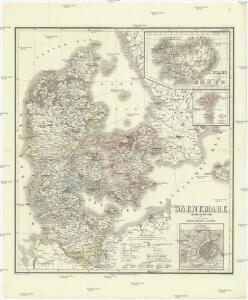 Daenemark, Island, die Far-Oer und die Herzogthümer Schleswig, Holstein & Lauenburg