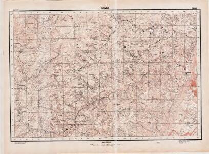 Lambert-Cholesky sheet 2864 (Ponor)