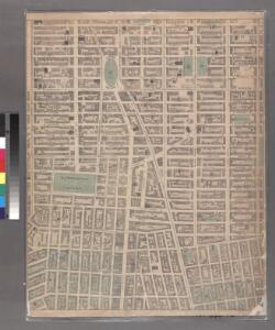 Sheet 7: [Bounded by Mc Dougall Street, Houston Street, Hancock Street, Bleecker Street, Sixth Avenue, E, Twentieth Street,Avenue A, Delancy Parkway, Bowery and Spring Street.]