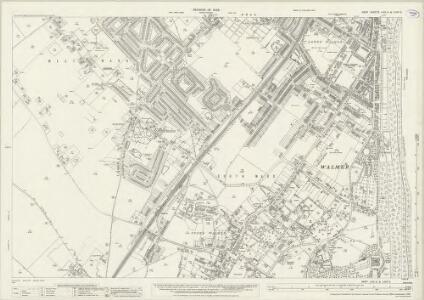 Kent LVIII.8 & LVIIIA.5 (includes: Deal) - 25 Inch Map