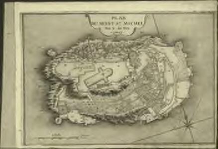 Plan du Mont St. Michel