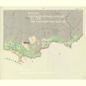Hillemühl - c4766-3-010 - Kaiserpflichtexemplar der Landkarten des stabilen Katasters
