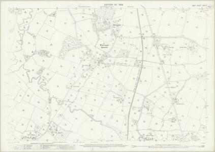 Kent LXIII.6 (includes: Frittenden; Headcorn) - 25 Inch Map
