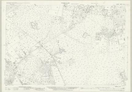 Dorset XLIII.3 (includes: Corfe Mullen; Lytchett Minster) - 25 Inch Map