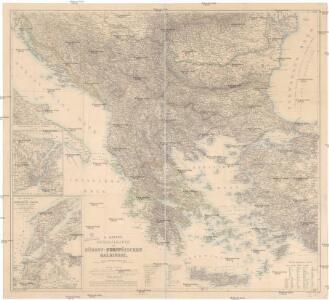 H. Kiepert's Generalkarte der südost-europäischen Halbinsel