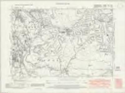 Staffordshire LXXII.SW - OS Six-Inch Map