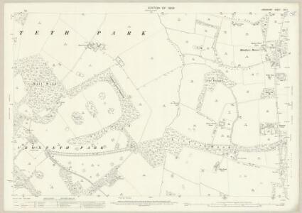Lancashire CVII.1 (includes: Knowsley; Liverpool) - 25 Inch Map