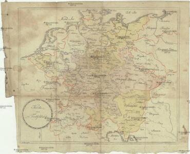 Karte von Teutschland