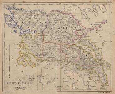 Epirus, Thessalia et Hellas