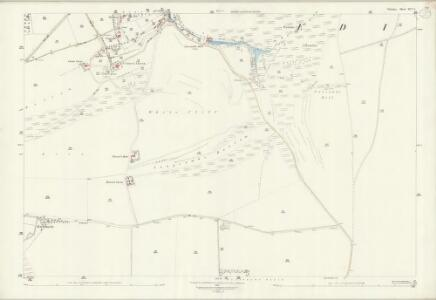 Wiltshire XLV.6 (includes: Bratton; Edington) - 25 Inch Map