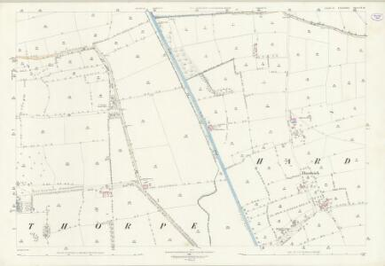 Lincolnshire LX.10 (includes: Fenton; Hardwick; Kettlethorpe; Torksey) - 25 Inch Map