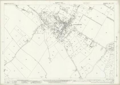 Oxfordshire XLVII.14 (includes: Britwell; Pyrton; Watlington) - 25 Inch Map