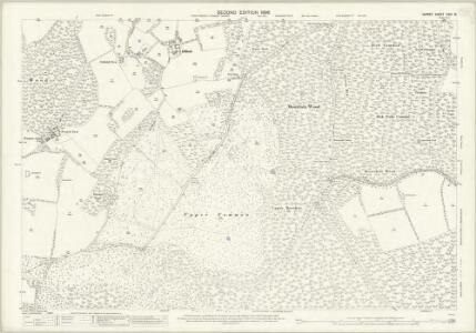 Surrey XXIV.16 (includes: Abinger; East Horsley; Shere; West Horsley) - 25 Inch Map