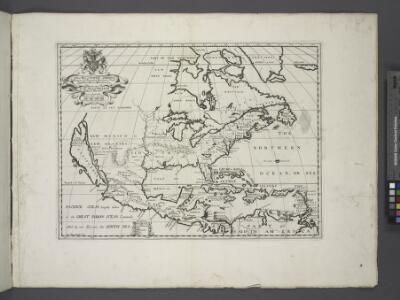 A new map of North America shewing its principal divisions, chief cities, townes, rivers, mountains & c. / delin. M. Burg.; sculpt. Univ. Oxon.; A new sett of maps both of antient and present geography: wherein not only the latitude and longitude of many places are corrected according to the latest observations, but also the most remarkable differences of antient and present geography may be quickly discern'd by a bare inspection or comparing of correspondent maps, which seems to be the most natural and easy method to lead young students (for whose use the work is principally intended) unto a competent knowledge of the geographical science: together with a geographical treatise particularly adapted to the use and design of these maps / by Edward Wells, M.A. and student of Christ-Church, Oxon.