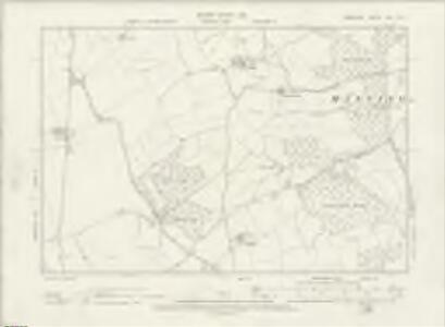 Hampshire & Isle of Wight XVII.NE - OS Six-Inch Map