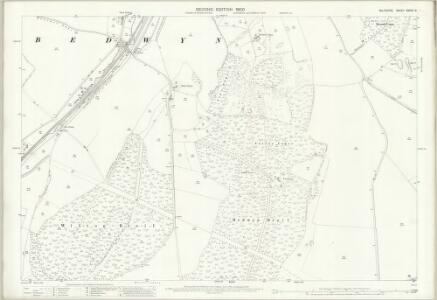 Wiltshire XXXVII.9 (includes: Great Bedwyn; Little Bedwyn; Shalbourne) - 25 Inch Map