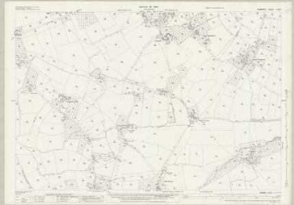 Somerset LIII.9 (includes: West Bradley; West Pennard) - 25 Inch Map