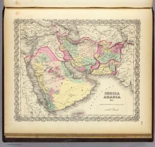 Persia Arabia & c.