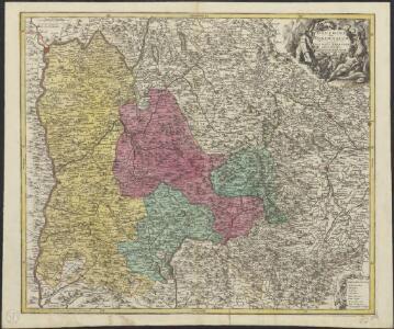 Dauphine sive Delphinatus superior et inferior nec non Ducatus Sabaudiae pars maxima