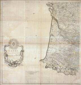 Carte de la France (SO)