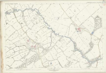 Shropshire LXVI.3 (includes: Chetton; Glazeley; Middleton Scriven) - 25 Inch Map