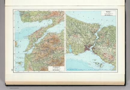 148.  Dardanelles.  Bosporus.  The World Atlas.
