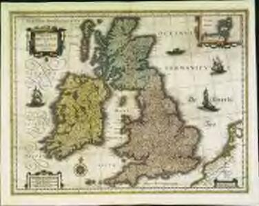 Magnæ Britanniæ et Hiberniæ tabvla
