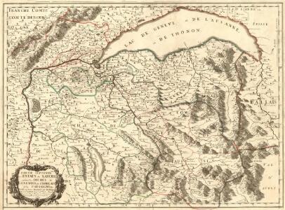 Parte Septentr[io]nale des estats de Savoye ou sont les Duchés de Genevois, de Chablais et le Faussigny &c.