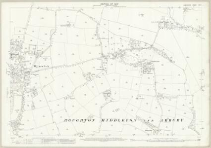 Lancashire CIX.5 (includes: Croft; Winwick) - 25 Inch Map