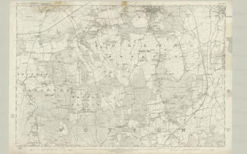 Surrey XXXIII - OS Six-Inch Map