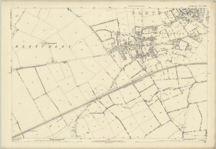 Buckinghamshire XV.13 (includes: Bletchley; Newton Longville) - 25 Inch Map