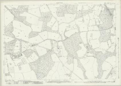 Surrey XLVI.7 (includes: Cranleigh; Rudgwick) - 25 Inch Map