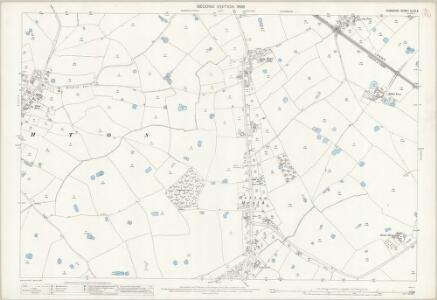 Cheshire XLVII.5 (includes: Hatton; Saighton; Waverton) - 25 Inch Map