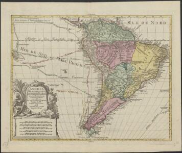 America Meridionalis : concin(n)ata juxta observationes Dnn Acad. Regalis Scientiarum [...]
