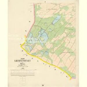 Lichtenstadt - c2367-1-003 - Kaiserpflichtexemplar der Landkarten des stabilen Katasters