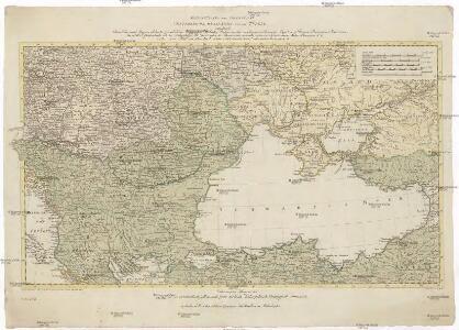 Kriegstheater oder Graenzkarte Oesterreichs, Russlands, und der Türkey