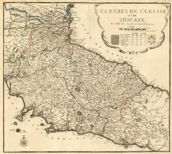 Les Etats de l'Eglise et de Toscane