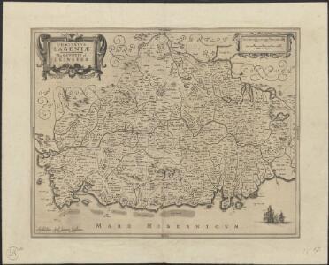 Comitatus Lageniae =  The countie of Leinster