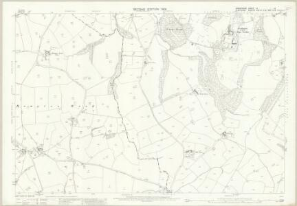 Shropshire VI.12 (includes: Bettisfield; Ellesmere Rural; Halghton; Hanmer; Welshampton) - 25 Inch Map