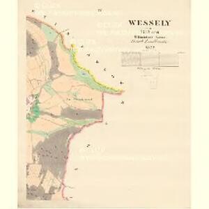 Wessely - m3357-1-003 - Kaiserpflichtexemplar der Landkarten des stabilen Katasters
