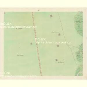 Bisenz (Bzenec) - m0321-1-014 - Kaiserpflichtexemplar der Landkarten des stabilen Katasters