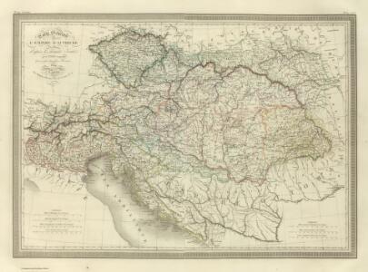 Composite:  Carte Generale l'Empire d'Autriche.